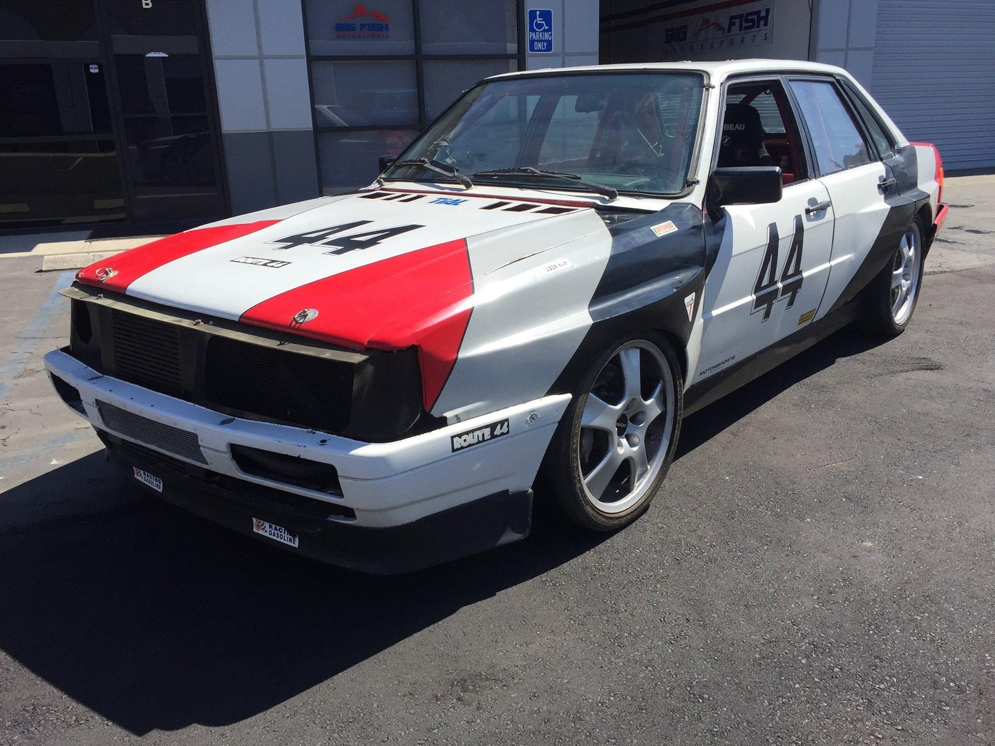 1986 Audi 4000 Quattro Turbo