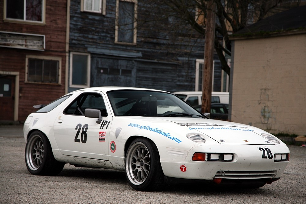 1989 porsche 928 gt race    track car wr showroom